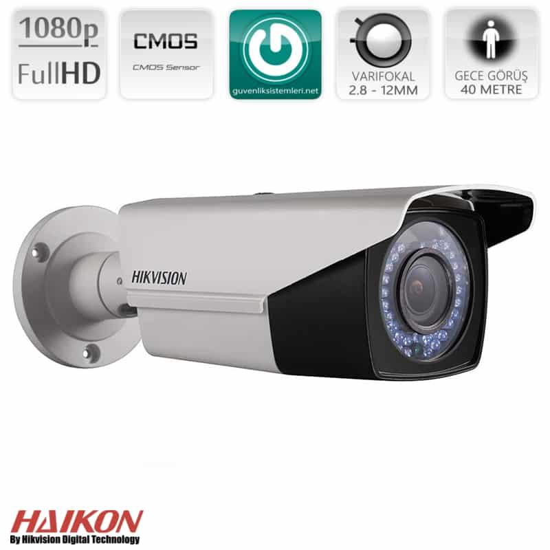 HAIKON DS-2CE16D1T-VFIR3 2MP Gece Görüşlü TVI AHD Kamera